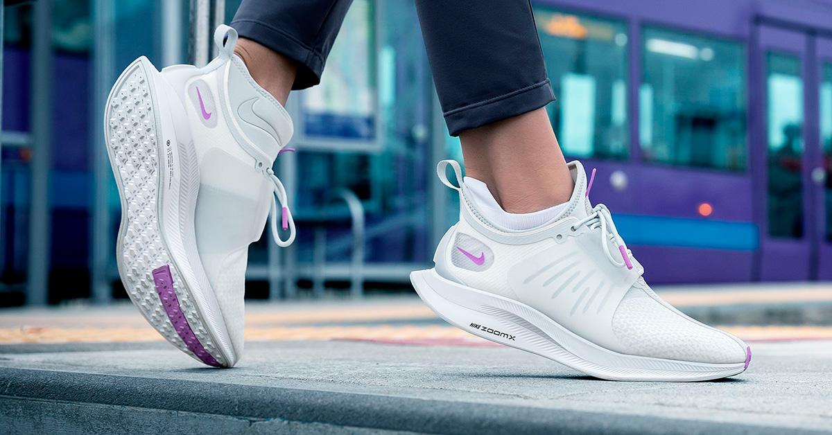 Womens Nike Zoom Pegasus Turbo XX Pure Platinum Bright Violet - Cool ... 5a13c3dfef1