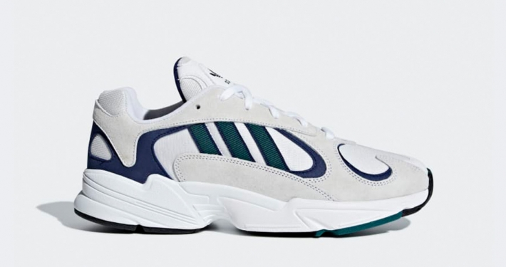 Adidas Yung 1 White Noble Green G27031