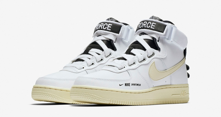 Nike Air Force 1 High Utility White til kvinder AJ7311-100