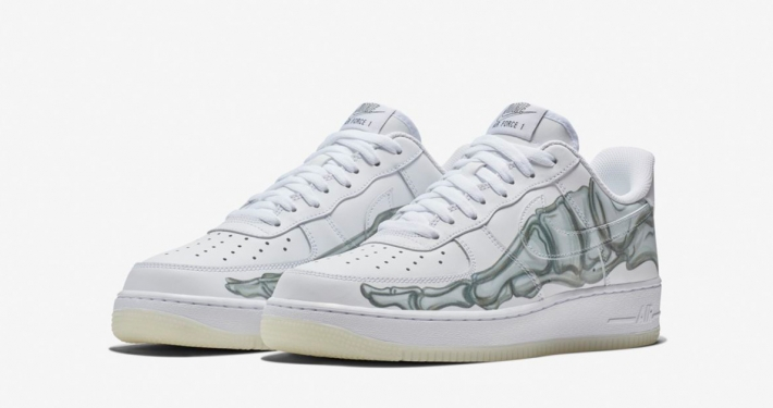 Nike Air Force 1 Skeletal Force White