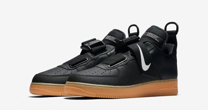 Nike Air Force 1 Utility Black AO1531-002