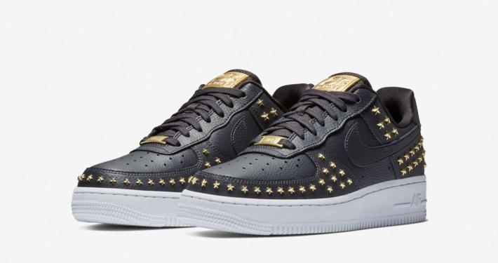 Nike Air Force 1 XX Star Studded til kvinder sort