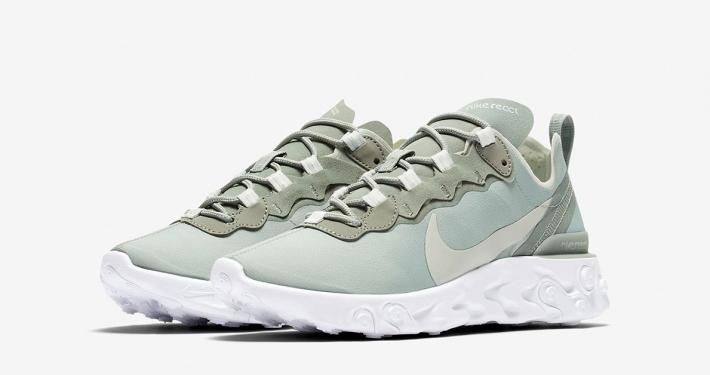 Nike React Element 55 Grøn til kvinder BQ2728-300