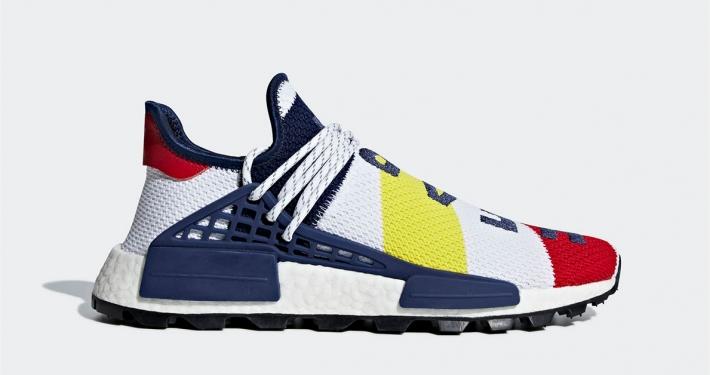 Pharrell Williams BBC x Adidas NMD Hu BB9544