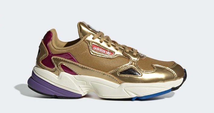 Adidas Falcon Guld til kvinder CG6247