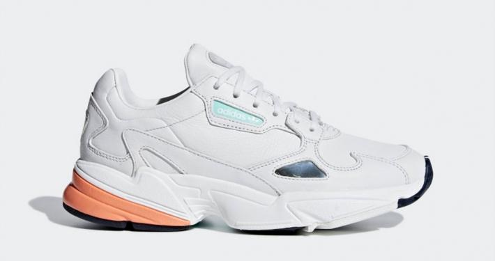 Adidas Falcon Hvid Orange til kvinder B37845