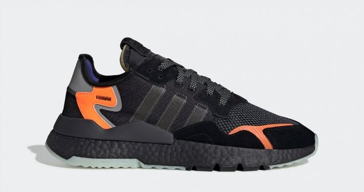 Adidas Nite Jogger Sort Orange CG7088