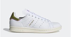 Adidas Stan Smith Guld Lilla til kvinder EE7279