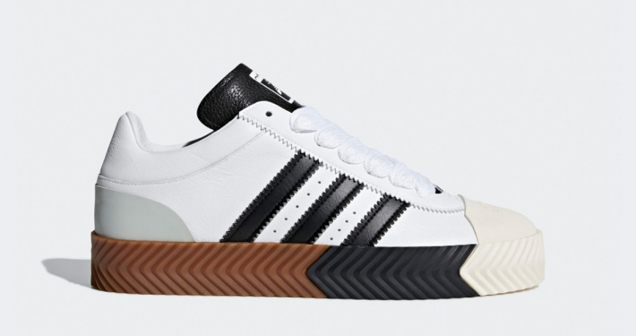 new arrival 57d52 7a8dc AW x Adidas Skate Super Hvid