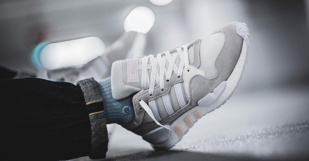 Never Made - Hvide Adidas Hybridsneakers