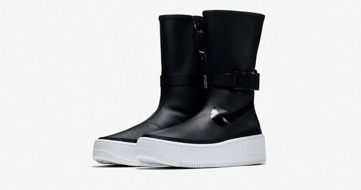 Nike Air Force 1 Sage High Black