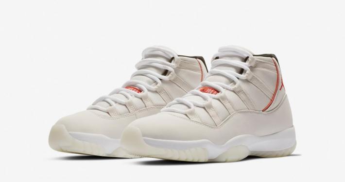 Nike Air Jordan 11 Platinum Tint