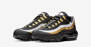 Nike Air Max 95 OG Sort Guld