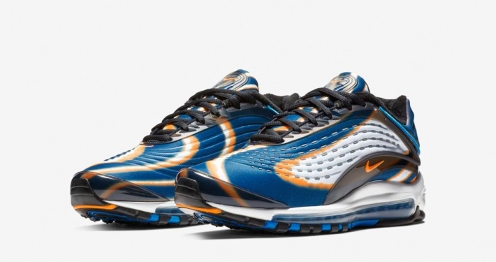 Nike Air Max Deluxe Blue Force Total Orange AJ7831-002