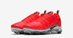 Nike Air Vapormax Plus Bright Crimson 924453-602