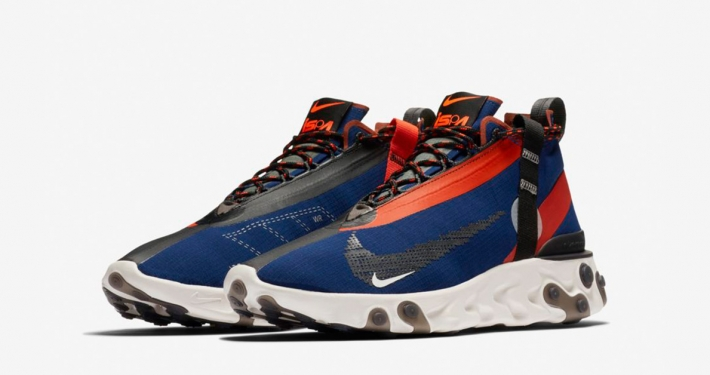 Nike React Runner Mid ISPA Blå Orange