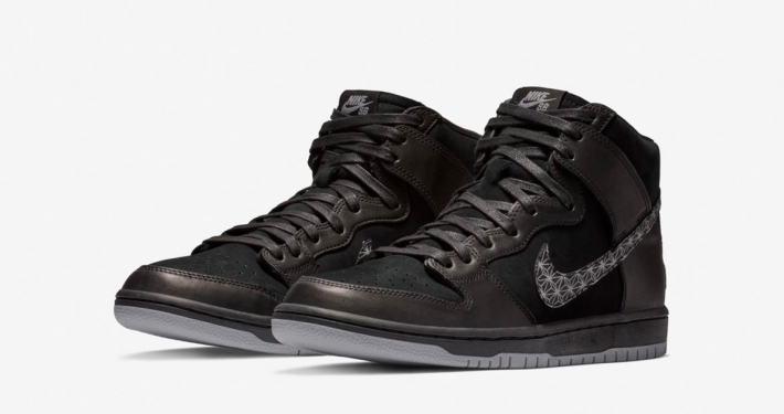 Nike SB Zoom Dunk High Pro Bar Black