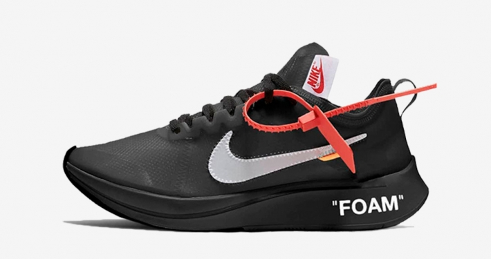 pretty nice 3a026 d9c4d Off-White x Nike Zoom Fly SP Black