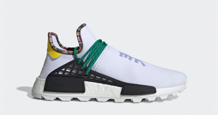 Pharrell Williams x Adidas Solar Hu NMD Hvid EE7583