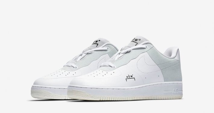 A-COLD-WALL x Nike Air Force 1 Hvid