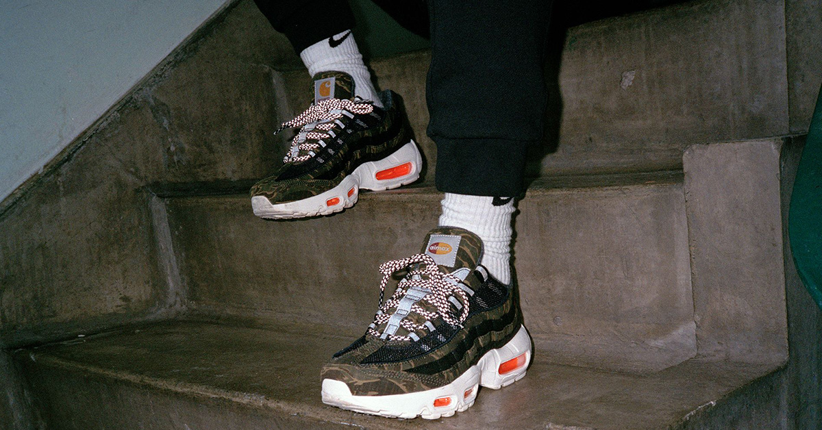 Carhartt WIP x Nike Air Max 95 Cool Sneakers