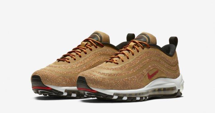 Nike Air Max 97 Guld Swarowski til kvinder