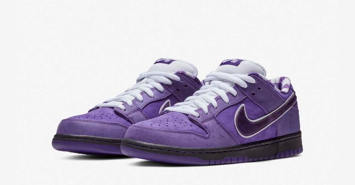 half off cacb0 43532 ... free shipping nike sb dunk low pro purple lobster cool sneakers e2eb4  35be0