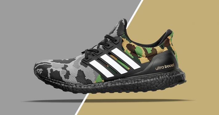 Hele BAPE X Adidas Kollektionen 2019
