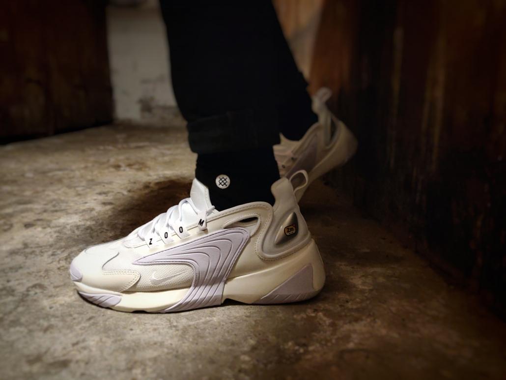On foot: Nike Zoom 2K Cool Sneakers