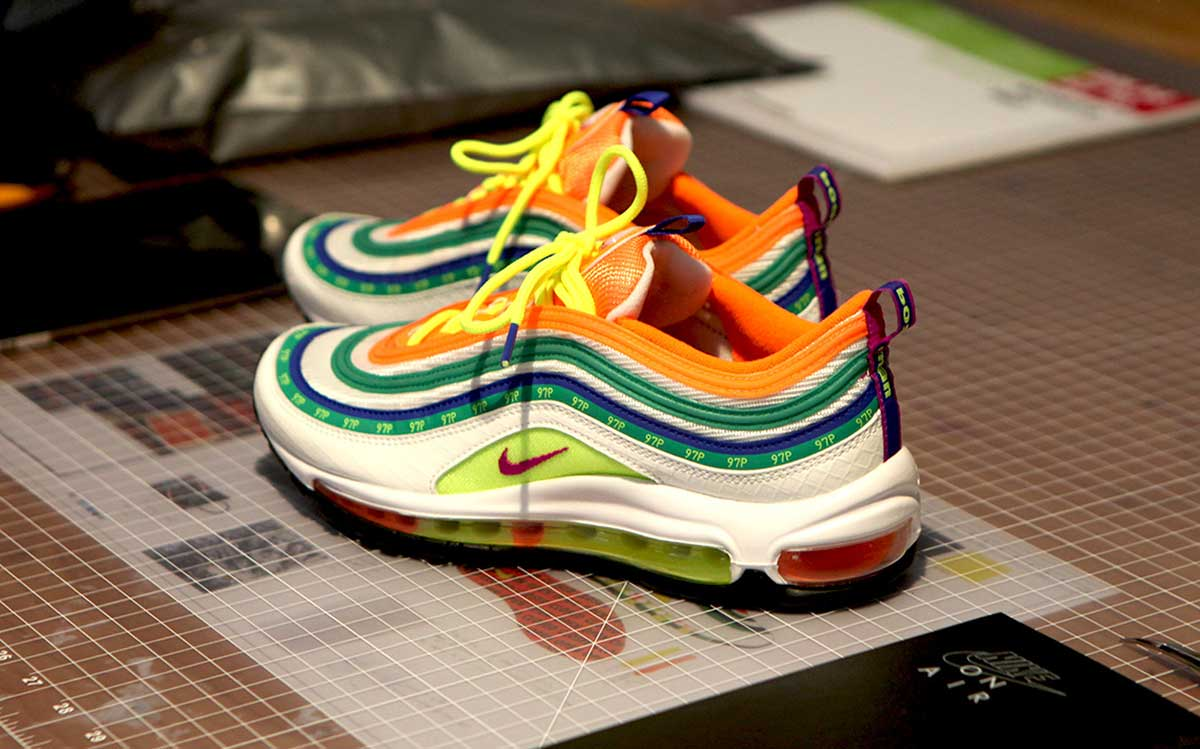 Jasmin Lasode x Nike Air Max 97 London