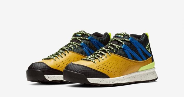 Nike ACG Okwahn 2 Gul Sort 525367-301