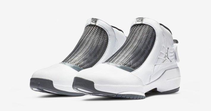 Nike Air Jordan 19 Hvid