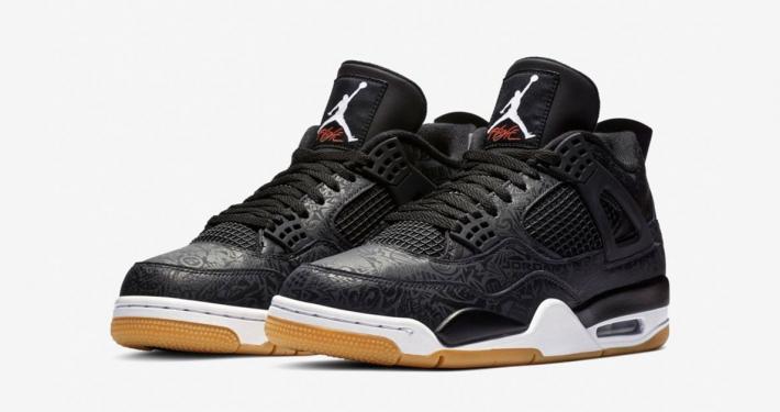 Nike Air Jordan 4 SE Laser Black Gum CI1184-001
