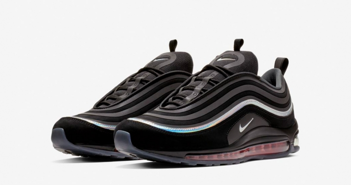 Nike Air Max 97 Ultra Sort Grå