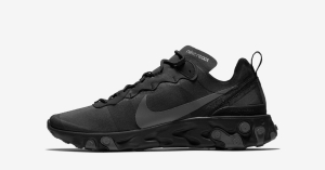 Nike React Element 55 Triple Black BQ6166-008