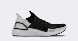 Adidas Ultra Boost 19 Sort Hvid B37704