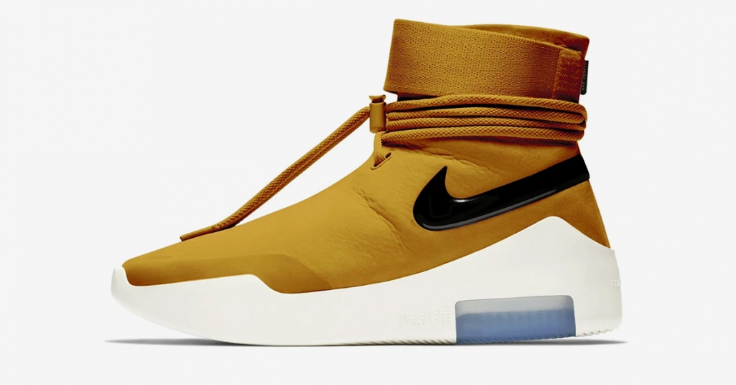 Nike Air Fear of God Shoot Around Wheat Gold