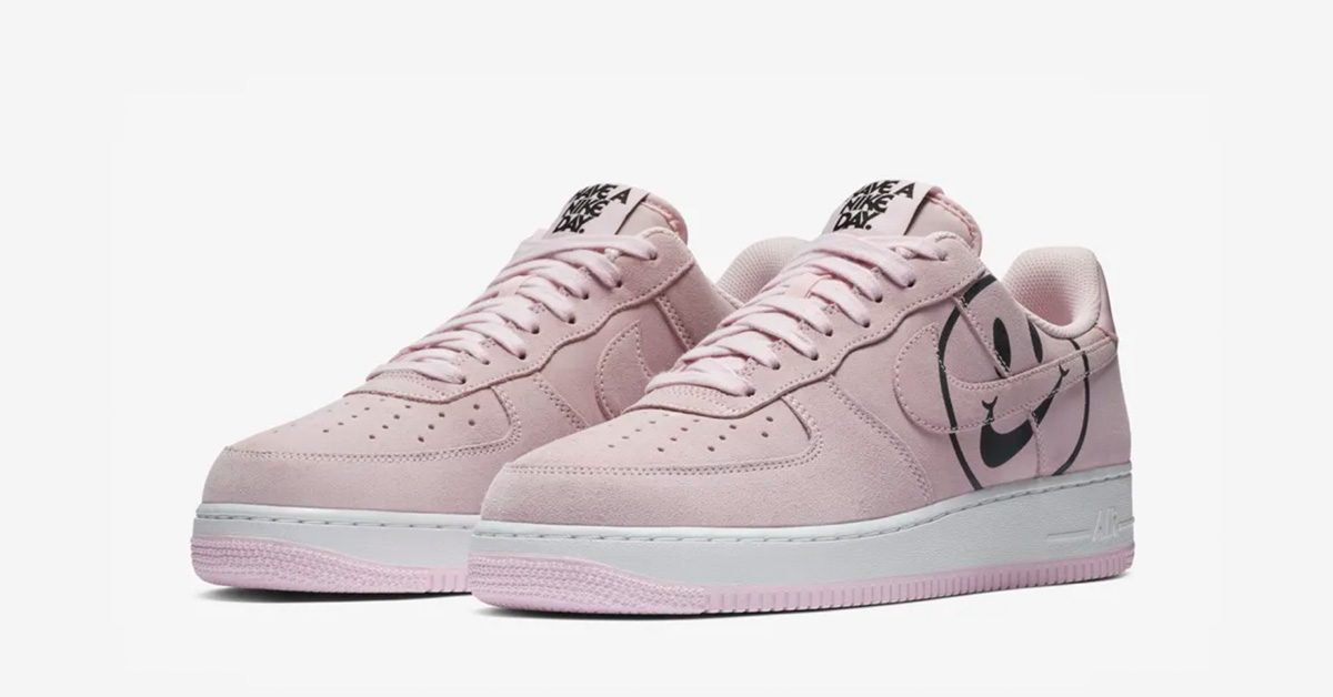 Nike Air Force 1 Low Pink Foam Have a Nike Day