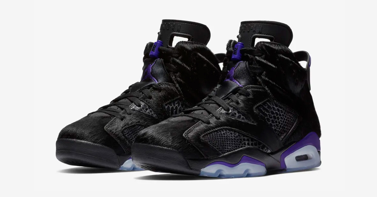 Nike Air Jordan 6 Retro Sort