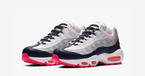 Nike Air Max 95 Pure Platinum Orange til Kvinder