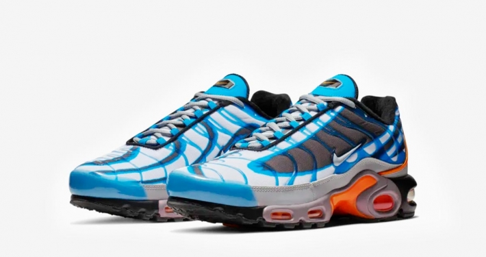 Nike Air Max Plus Deluxe Blå Orange 815995-400