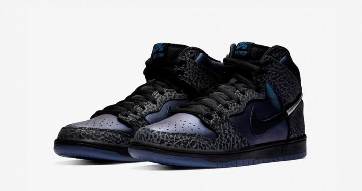 Nike SB Dunk High Black Hornet BQ6827-001