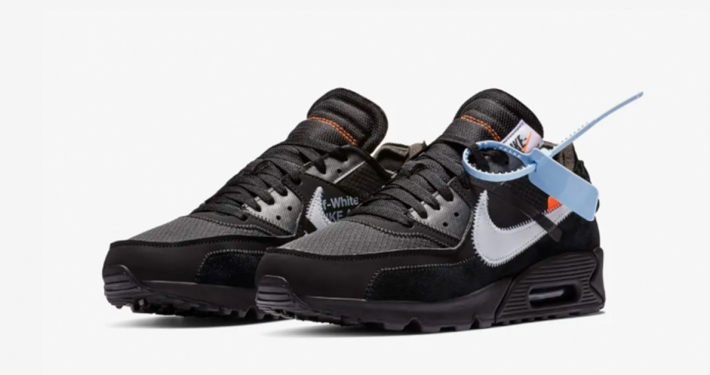 Off-White x Nike Air Max 90 Sort AA7293-001