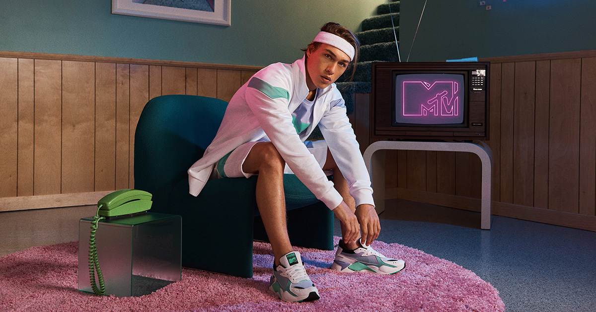MTV x Puma RS-X Tracks Collection