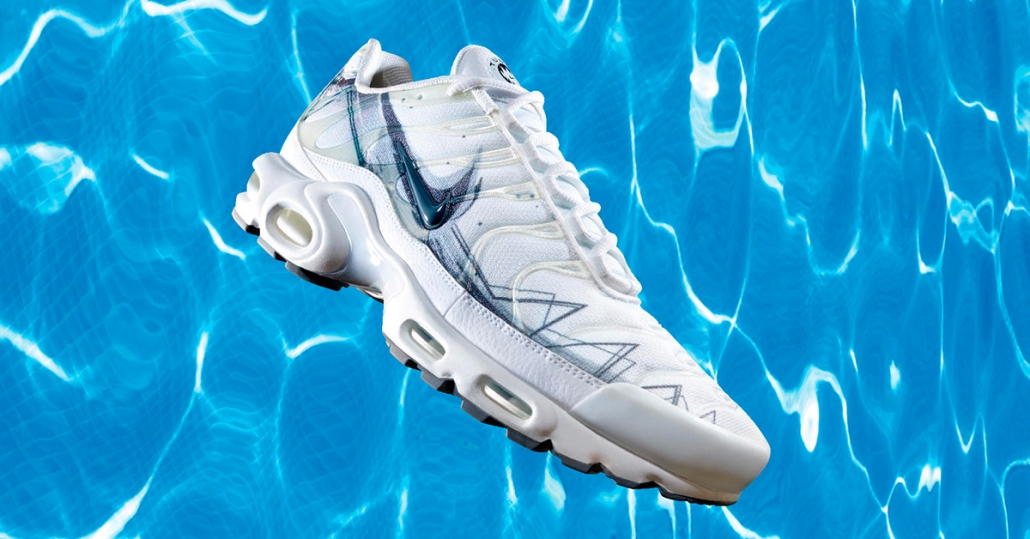 Nike Air Max Plus La Requin Hvid
