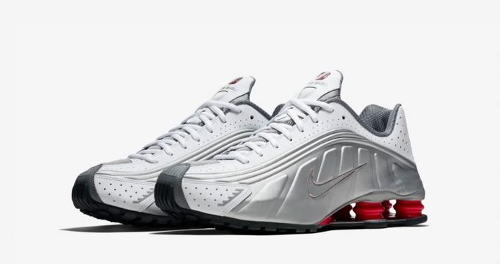 Nike Shox R4 Sølv