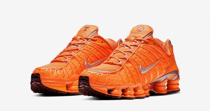 Nike Shox Total Orange