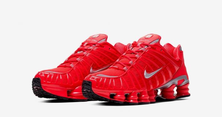 Nike Shox Total Rød