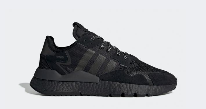 Adidas Nite Jogger Triple Black BD7954