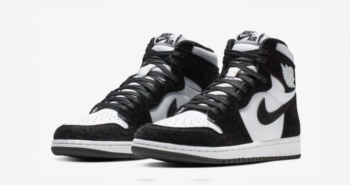 Nike Air Jordan 1 Sort Hvid til kvinder CD0461-007